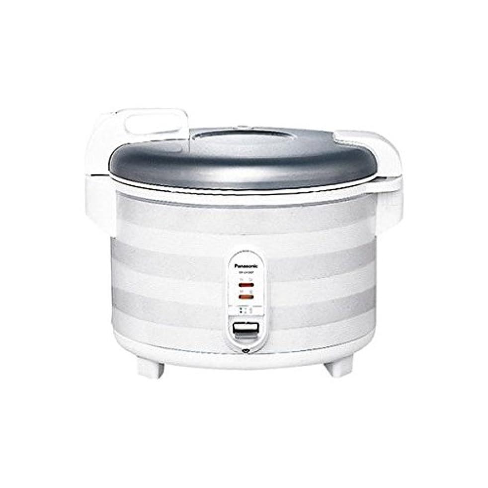 挑む帝国主義アシスタントパナソニック 炊飯器 2升 マイコン式 ホワイト SR-UH36P-W