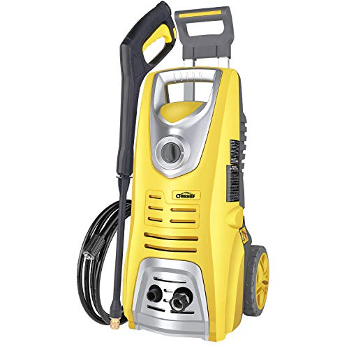 oasser Electric Pressure Washer Power Washer 3046 PSI 1.85 GPM Car Washer 1800W Pressure Cleaner with Spray Gun 5 Nozzles 16ft High Pressure Hose