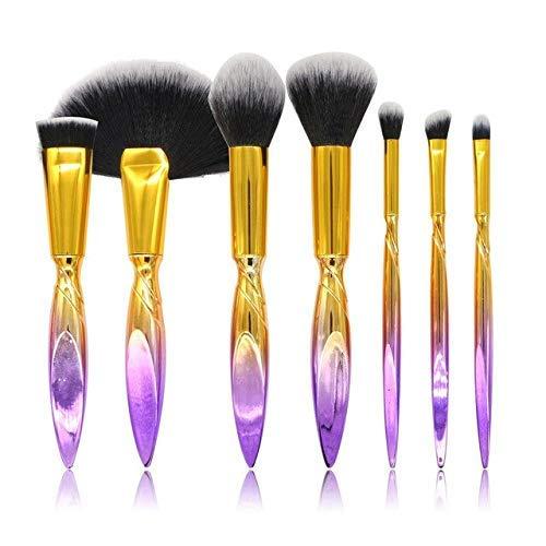 GONGFF Pinceau de Maquillage Set Eye-Eyeliner Eyeliner Shadow Brush Set Outil Multifonction