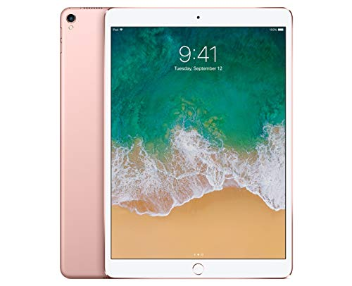 Apple iPad Pro 10.5in with ( Wi-Fi + Cellular ) - 64GB, Rose Gold (Renewed)