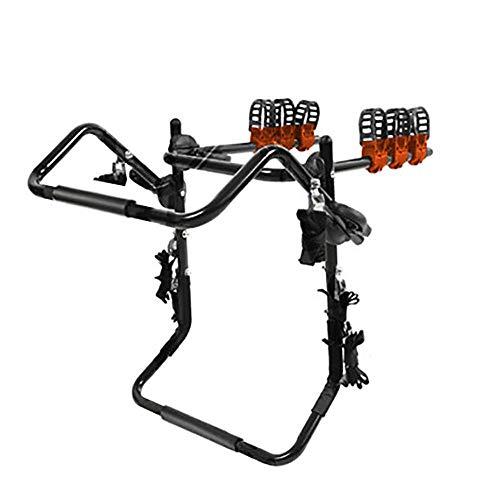 GUO Portabicicletas para Coche, Bike Rack Hitch, SUV Bike Rack 2 Bicicletas, Este Rack se Adapta a la mayoría de los Tipos de Coches y portadores de Personas