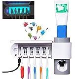 TopHGC Sterilizzatore per spazzolino da Denti, portaspazzolino Elettrico Sterilizzazione U...