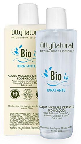 Ollynatural Acqua Micellare Idratante Acque Camomilla e Calendula - 250 gr