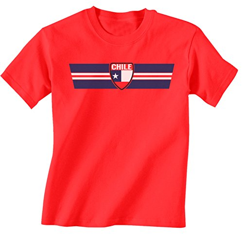 buzz shirts Chile Patriotic Retro Strip T-Shirt *Elección de Hombre Señoras Niños o Bebé*