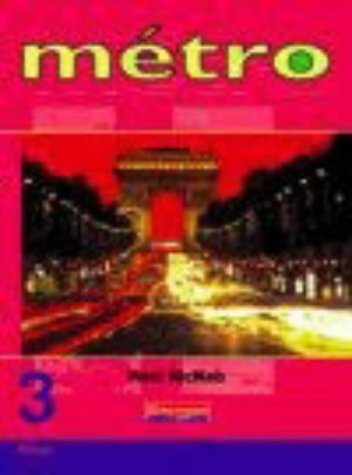 Metro 3 Rouge Pupil Book (Metro for 11-14)