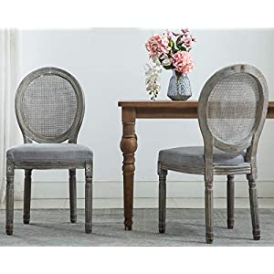 412DQV3iQlL._SS300_ Coastal Dining Accent Chairs & Beach Dining Accent Chairs