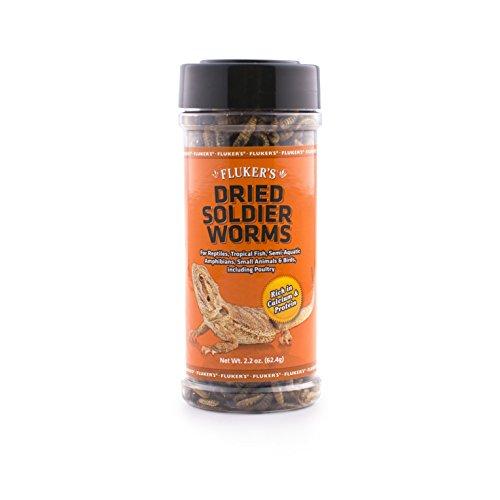 Fluker's 72028 Dried Soldierworms, 2.2oz
