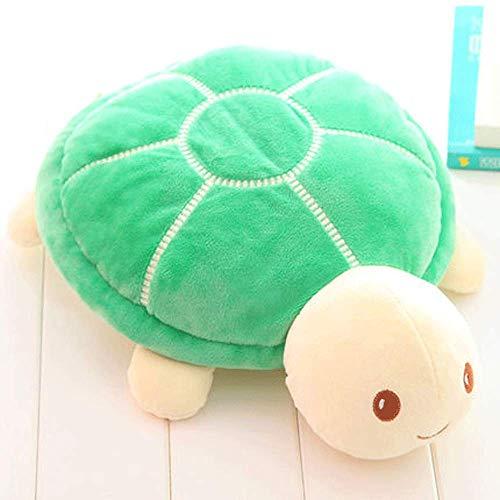 Dierbenodigdheden schildpad knuffel pop pop lappenpop groene schildpad pop hond kussen 34 cm A.