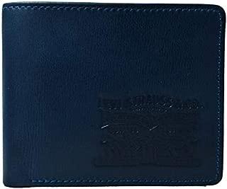 Levi's Indigo Men's Wallet (Two Horsepull Indigo Wallet)