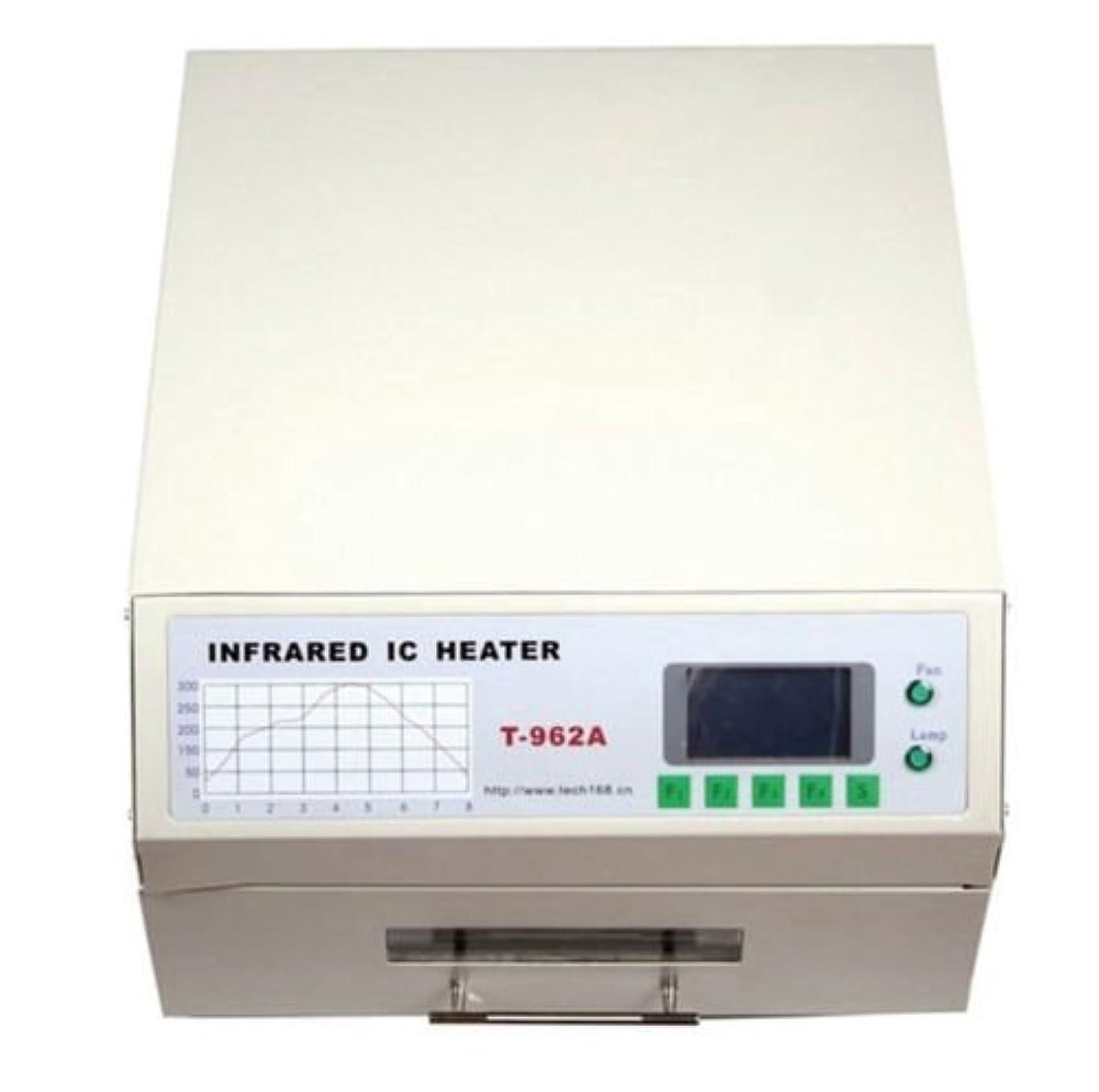 巻き取り観点キモいDC HOUSE T962A赤外線リフロー装置 ICヒーター はんだ付け機 300×320MM 1500W
