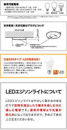 ottostyle.jp4灯シーリングライトヴィンテージ風ウッドアーム【マットブラック】&LEDエジソンライト330lm【Bタイプ/6.4cm×14.3cm】E26型インダストリアル照明スチール角度調整