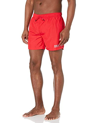 HUGO by Hugo Boss Herren Haiti 10222411 02 Badehose, Cherry, Large