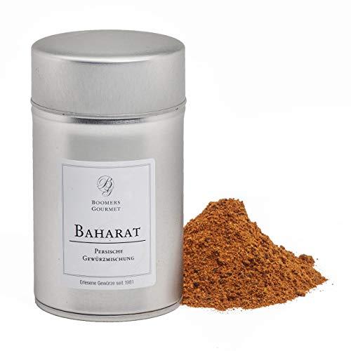 Boomers Gourmet - Baharat Gewürzmischung, Baharat Gewürz - Arabische Gewürzmischung - Gewürzdose 11,5 cm - 120 g