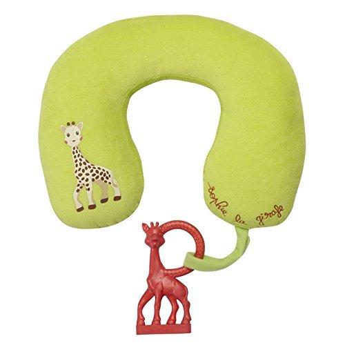 Vulli 470218 - Set de cojín para el cuello y mordedor, diseño Sophie la jirafa
