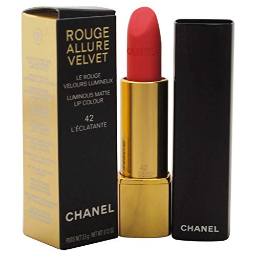 Chanel Rouge Allure Velvet - # 42 L' Eclatante 3.5g/0.12oz