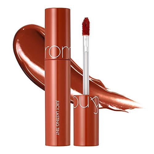 [rom&nd] Juicy Lasting Tint 16 colors | Vivid color, Glossy Finish, Long-lasting, moisturizing, Highlighting, Natural-beauty | Lip Tint for Daily Use, K-beauty | 5.5g/0.2oz No.13 EAT DOTORI