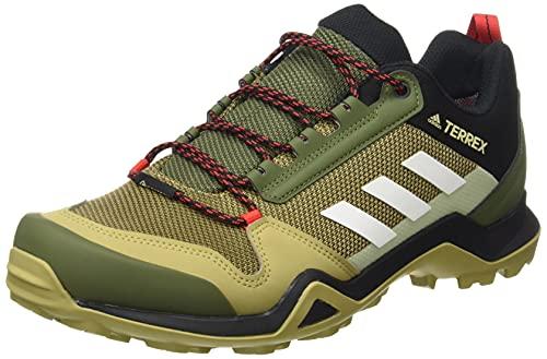 adidas Terrex AX3 GTX, Zapatillas de Senderismo Hombre, PINSIL/Balcri/Rojint, 44 EU