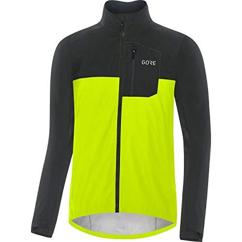 GORE WEAR Chaqueta de ciclismo Spirit para hombre, GORE-TEX INFINIUM, L, Amarillo...