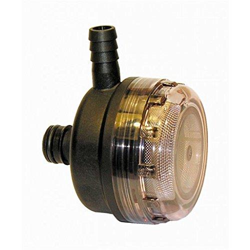 Jabsco Pumpguard Strainer 90 Deg 1/2 Inch Hose x Plug In -  JAB46400-0012