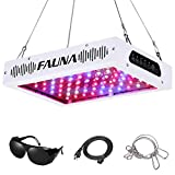 Timer Control 1000W LED Grow Light Full Spectrum 12/15/18 Hours Auto On/Off with UV&IR Plant Light for Indoor Plants Veg and Flower (1000W)