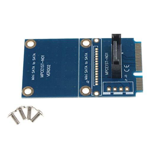 LIPENLI MSATA mini SATA 7 pines SATA adaptador de conversión de PCB Junta for Computer accesorios de escritorio