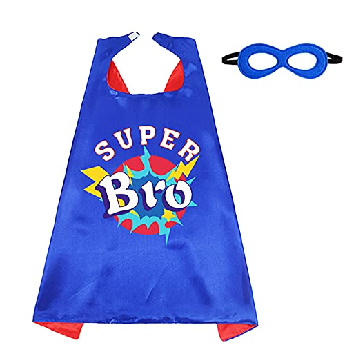 D.Q.Z Superhero Cape and Mask for Kids