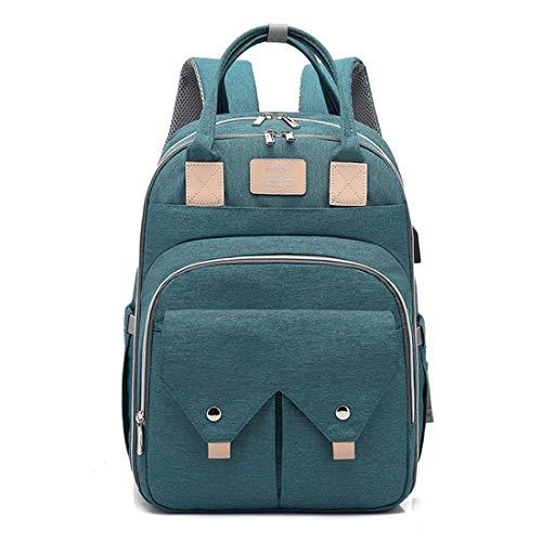 BigForest sac ? main Nappy Changing Bag Sacs ? Dos ? Langer pour B?b? Sac Mummy Backpack Baby Diaper Bag Maternity Tote Handbag green