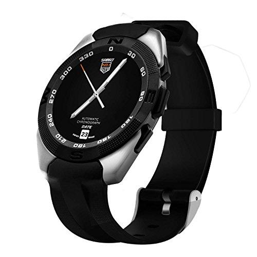 GlodSmart Watch Orologio da polso da donna, impermeabile, in acciaio inox, orologio Bluetooth per donna G5e Fitness Tracker e Smart Watch – GlodSmart Watch Sport Watch Uomo Timex