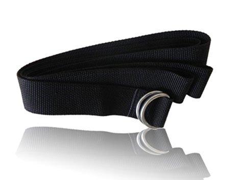Full Force Wear American Football Gürtel, 150cm, schwarz