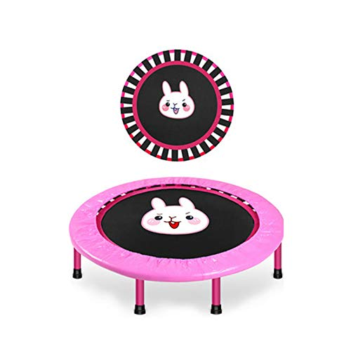 MINGDIAN Toddler Trampoline - Kids Trampoline - Coil Spring, Safety Padded Cover -Heavy Duty Mini Trampoline Indoor Outdoor Toddler Trampoline