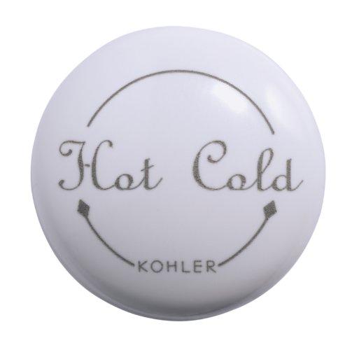 Kohler GP78205-0 Plug Button, One Size, White