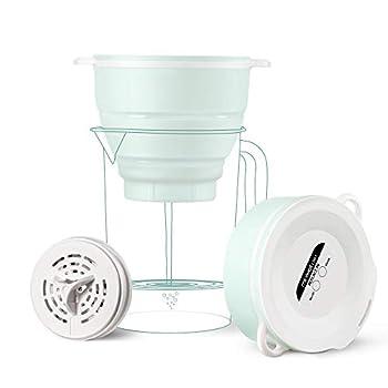 Miniwell - Système De Filtration - Filtre à eau De Camping Avec Filtre Remplaçable - Pour La Purification De L'eau Lors Des Randonnées - Elimine Le Chlore, Les Sédiments. Sans BPA