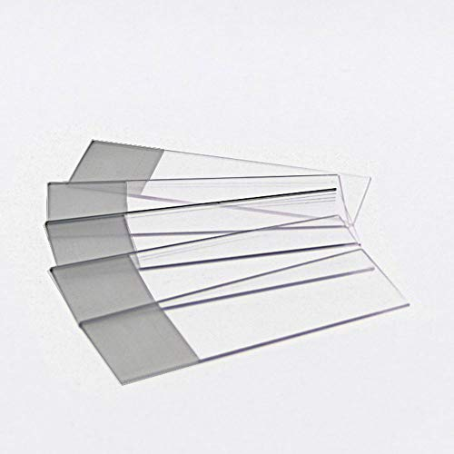 Microscope Slides, Single Frosted, Beveled Edges, 2 Boxes of 72/Unit (1 Gross)