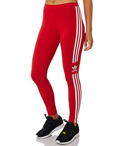 adidas Trefoil Tight, Leggings Sportivi Donna, Multicolor/Carbon, 40