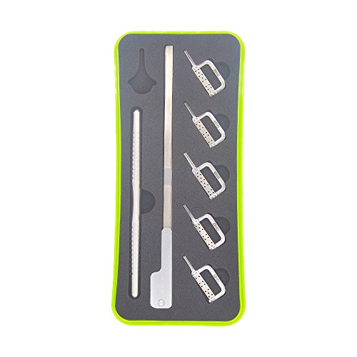 NSKR Reciprocating IPR Orthodontic Interproximal Stripping Head Kit 5pcs Automatic Strips 5 Kinds