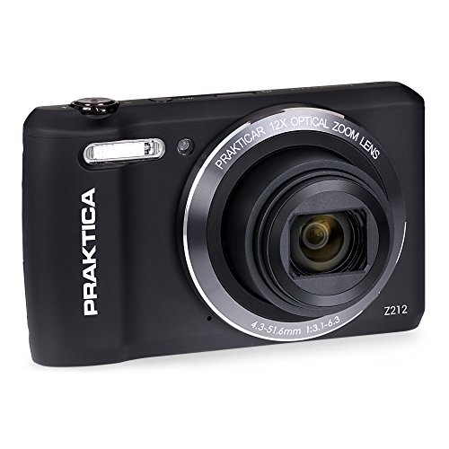 Praktica Luxmedia Z212Kompakte Digitalkamera Praktica Z212 Schwarz