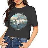 Niall Horan Heartbreak Weather Shirt Women's Crop Top Short Sleeve Round Neck T-Shirt Summer Sexy Cotton Tee XL Black