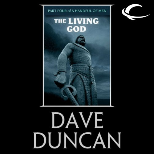 The Living God audiobook cover art