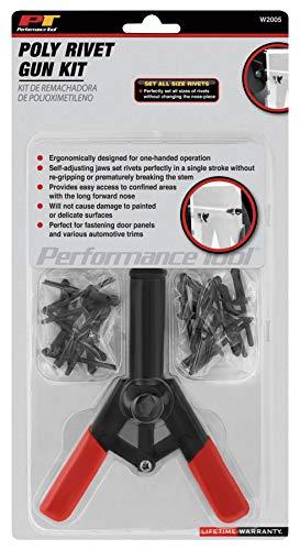 Performance Tool W2005 Poly Riveter Kit (41pc) Poly Riveter Kit (41pc)