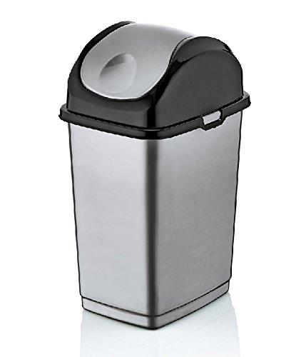 Brand 4.7-Gal. Compact Slim Trash Can
