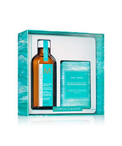 Moroccanoil Cleanse & Style Duo Light Self Care Kit