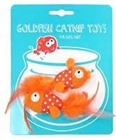 ハッピーニャー金魚キャットニップおもちゃ