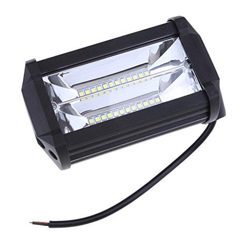 Sharplace Barre Lumineuse LED 72W Lumière de Travail De Voiture