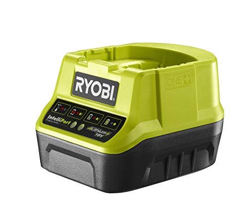 Ryobi Schnellladegerät 18V, Spannungs- und Temperaturüberwachung, mit Schutzelektronik, ohne Akku – RC18-120