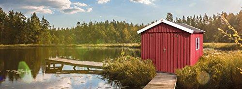 *Weka Gartenhaus Schwedenhaus Größe 3 schwedenrot*
