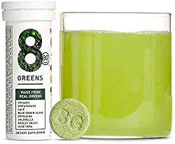 MADE FROM REAL GREENS: 8 essential real greens, straight from the farm; spinach, wheatgrass, kale, blue green algae, spirulina, aloe vera, chlorella and barley grass. NO SUGAR, DAIRY, GLUTEN, or PRESERVATIVES and only 15 calories. Suitable for vegans...