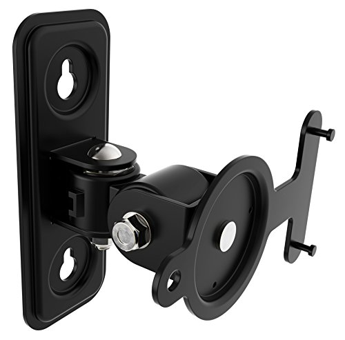 RICOO LH433-B Soporte de Altavoz Giratorio Inclinable Montaje Pared Compatible con Sonos...