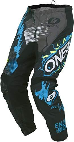 O'Neal Kinder Motocross Hose Element Villain Youth, Grau, 22, 010E-9Youth