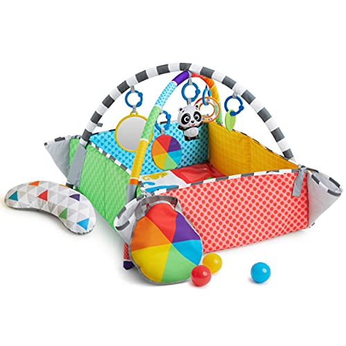 Baby Einstein Patch's 5-in-1 Color Playspace Activity Play Mat & Ball...
