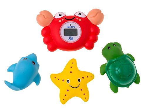 Rotho Babydesign Thermomètre Digital de Bain avec Asperger Animaux
